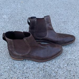 Cole Haan Chelsea Ankle Boot NikeAir Brown Leather
